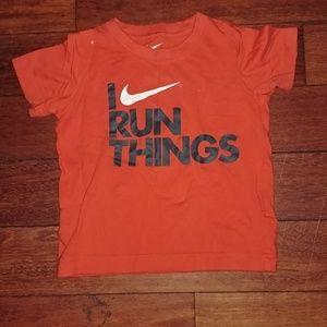 Nike orange toddler tee 3T mint